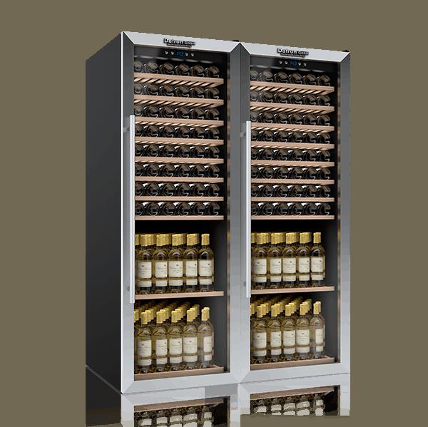 Wine Fridge Cabinet 340 bottles Double door wine cooler Datron GmbH