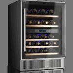 Weinkühlschrank 46 Flaschen, 2 Temperaturzonen, KLASSE A, Kompressor - Datron GmbH