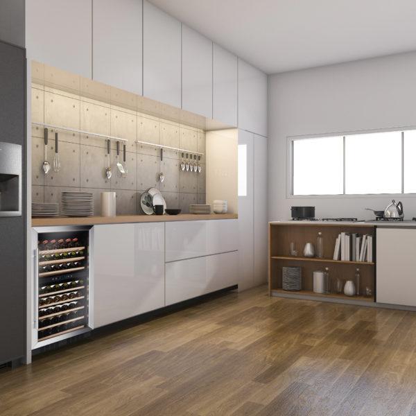 Casa tua le cantinette frigo vino il nuovo mobile che for Arredamento cantina vino